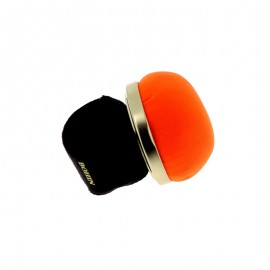 Bracelet Porte Épingle ajustable Bohin - orange fluo