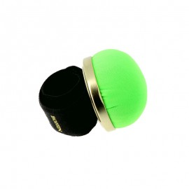 Bohin Adjustable Pin Holder Bracelet - neon green