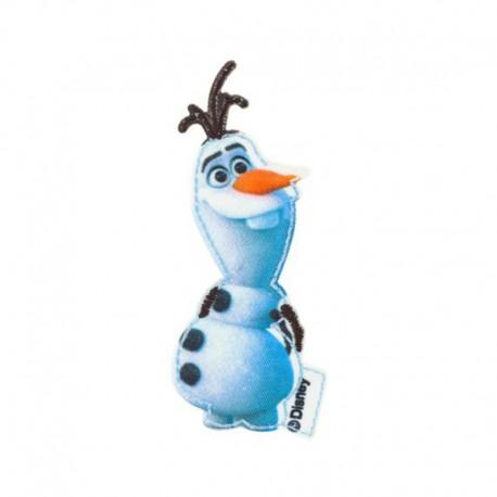 Thermocollant toile La Reine des neiges - Proud Olaf