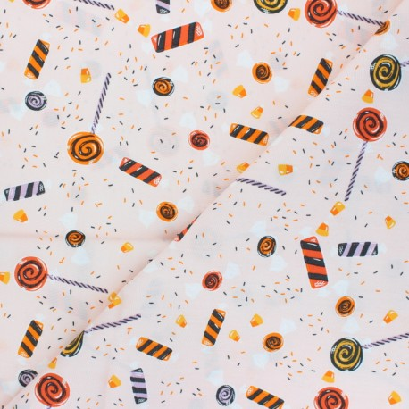 AGF cotton fabric - Spooky 'n Sweet Inside the Candy Bowl x 10cm