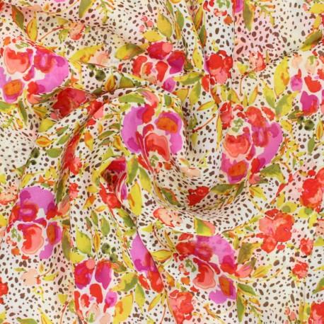 AGF Rayon fabric - 365 Fifth Avenue - Manhattan's Foliage x 10cm