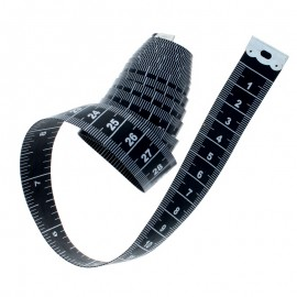 Sew Tasty Measuring tape - black