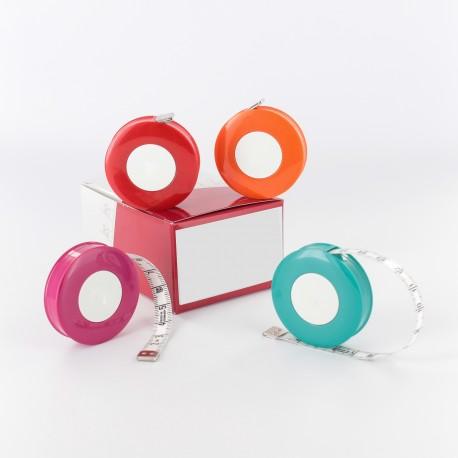 "Automatic Retractable measuring tape ""Rollfix"" - white"