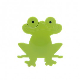 Retractable measuring tape - green Jumpy Frog