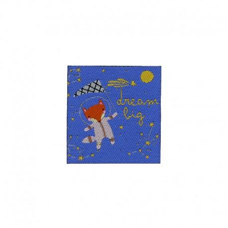 "Thermocollant Enfantin ""Dream Big"" - bleu"