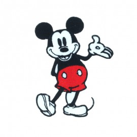 Mickey Original Iron-On Patch - Mickey Mouse