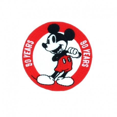 Ecusson Thermocollant Mickey Original - 90 years