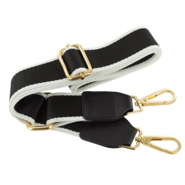 Adjustable bag handles - Chic black/white