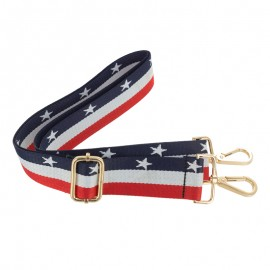 Adjustable bag handles - Stars blue/white/red