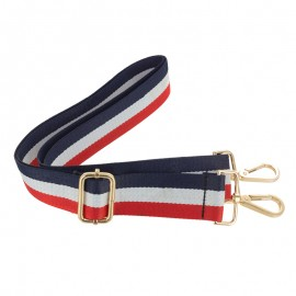 Adjustable bag handles - tricolor French Touch