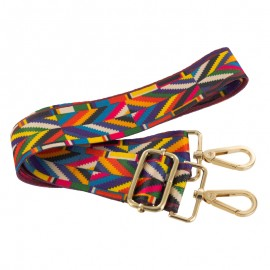 Adjustable bag handles - multicolor Color Pop