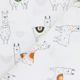 AGF cotton fabric - Pacha Born to Roam x 10cm
