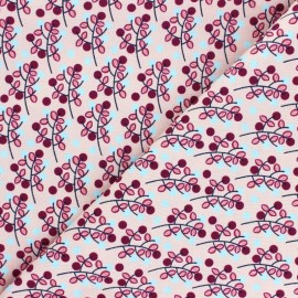 Cotton Steel cotton fabric - light pink Emilia Charlotte x 10cm