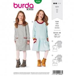 Patron Robe enfant Burda Style n°9286