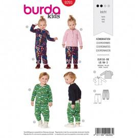 Patron pantalon et veste enfant Burda Style n°9293