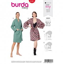 Patron Veste kimono Femme - Burda n°6161