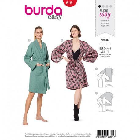Patron Veste kimono Femme Burda n°6161