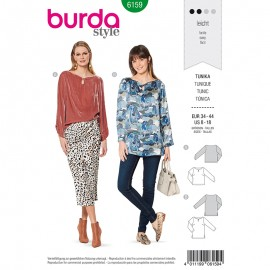 Patron Tunique –  Burda N°6159