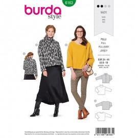 Patron pull –  Burda N°6163