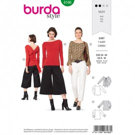 Shirt Sewing Pattern - Burda Style n°6166