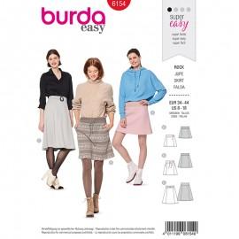 Skirt Sewing Pattern for Woman - Burda n°6154