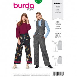 Pants Sewing Pattern - Burda Style n°6173