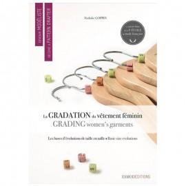 """Devenir Modéliste - La gradation du vêtement féminin"" book"