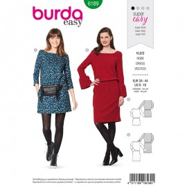 Dress Sewing Pattern - Burda Style n°6189
