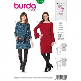Dress Sewing Pattern - Burda Style n°6189