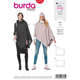 Cape Sewing pattern - Burda N°6175