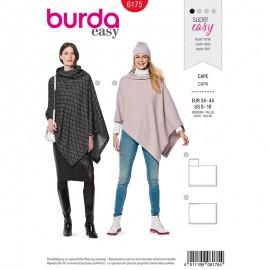 Cape Sewing pattern - Burda N°6175