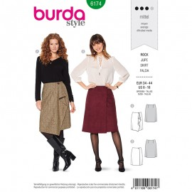 Skirt Sewing Pattern for Woman - Burda n°6174