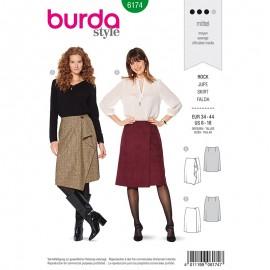 Skirt Sewing Pattern for Woman - Burda n°6174