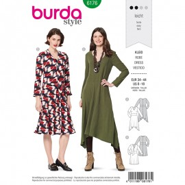 Dress Sewing Pattern - Burda Style n°6176