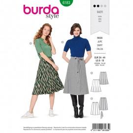 Skirt Sewing Pattern for Woman - Burda n°6183