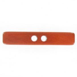 Bouton bâtonnet orange