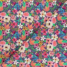 Tissu coton Blend fabrics Forest Friends - Floral Mix x 10 cm