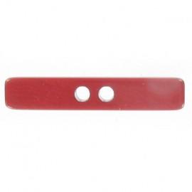 Bouton bâtonnet rouge