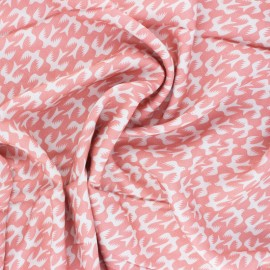Tissu rayonne Cloud 9 - Quicksilver - rose x 10 cm