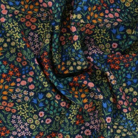 Cloud 9 satin poplin fabric - Wildflower Meadow x 10 cm