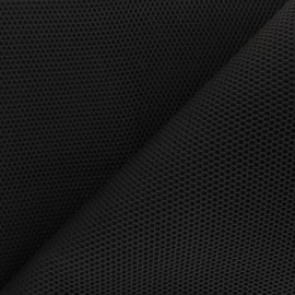 3D mesh fabric - Black Bubble x 10cm