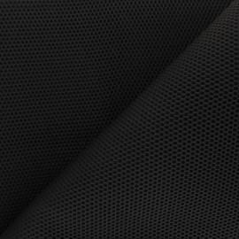 Tissu mesh 3D Bubble - noir x 10cm