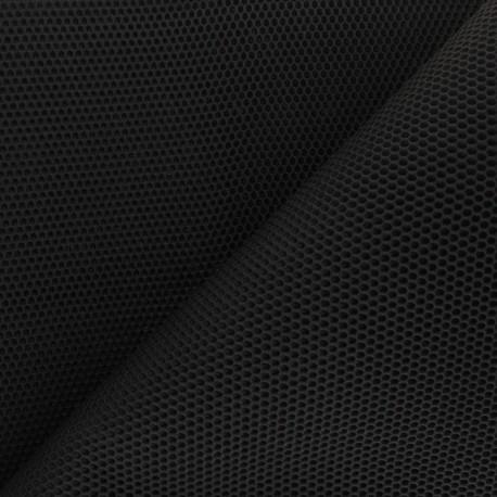 3D mesh fabric - Black Bubble x 10cm