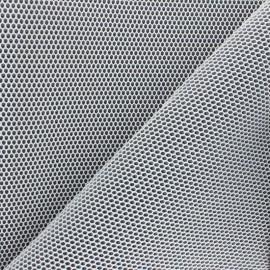 Tissu mesh 3D Bubble - gris x 10cm
