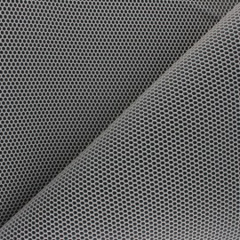 3D mesh fabric - greige Bubble x 10cm