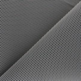 Tissu mesh 3D Bubble - grège x 10cm