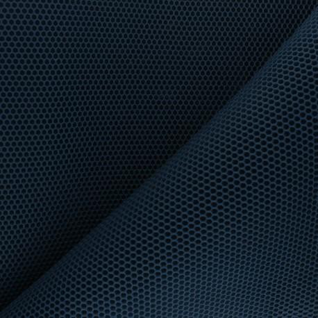 3D mesh fabric - petrol blue Bubble x 10cm
