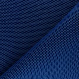 Tissu mesh 3D Bubble - bleu roi x 10cm