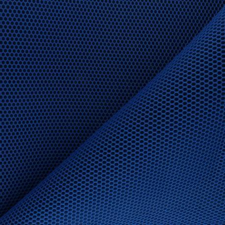 3D mesh fabric - royal blue Bubble x 10cm