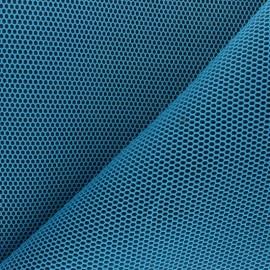 Tissu mesh 3D Bubble - bleu turquoise x 10cm